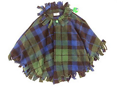 Irish Bundles Irish Girl Fringed Poncho