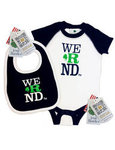 Irish Bundles We R ND Bodysuit & Bib Set